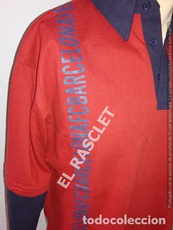 Coleccionismo deportivo: ANTIGÜA CAMISETA / POLO / SUDADERA - MANGA LARGA -- F.C. BARCELONA - ORIGINAL TALLA L - Foto 2 - 204544983