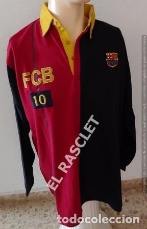 ANTIGÜA CAMISETA / POLO / SUDADERA - MANGA LARGA -- F.C. BARCELONA - ORIGINAL TALLA XL (Coleccionismo Deportivo - Ropa y Complementos - Camisetas de Fútbol)