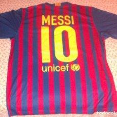 Coleccionismo deportivo: CAMISETA DEL FC BARCELONA NO NIKE TEMPORADA 2011/12 MESSI TALLA L EN MUY BUEN ESTADO. Lote 205739122