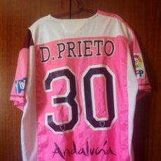 Coleccionismo deportivo: CAMISETA SEVILLA FC DAVID PRIETO 2007/08 MATCH WORN. Lote 205828173