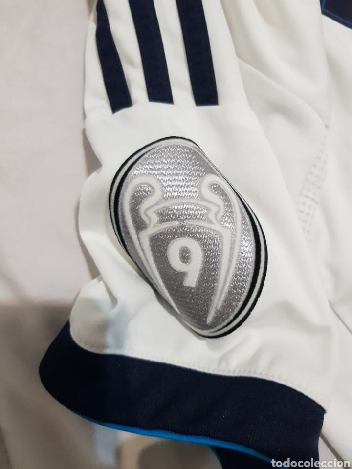 Coleccionismo deportivo: CAMISETA DE MODRIC REAL MADRID 2012 DORSAL 19 TALLA 164 - Foto 3 - 206183923