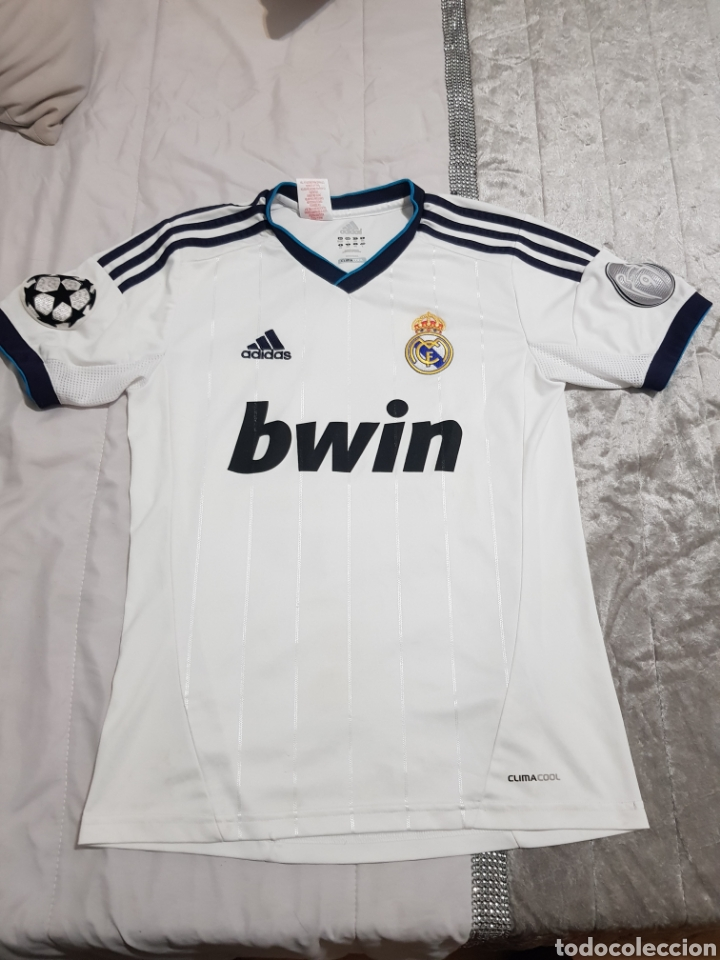 CAMISETA DE MODRIC REAL MADRID 2012 DORSAL 19 TALLA 164 (Coleccionismo Deportivo - Ropa y Complementos - Camisetas de Fútbol)