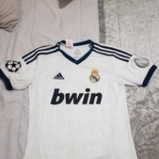 Coleccionismo deportivo: CAMISETA DE MODRIC REAL MADRID 2012 DORSAL 19 TALLA 164. Lote 206183923