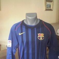 Coleccionismo deportivo: FC BARCELONA. NUMERO 9 ETOO. 2004. TALLA L Y PARCHE .. Lote 206184443