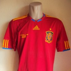Coleccionismo deportivo: (F-200590)CAMISETA DE ESPAÑA EDICION ESPECIAL DIRECTIVOS CAMPEONATO DEL MUNDO DE SUDAFRICA 2010. Lote 206242636