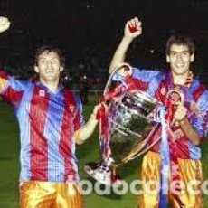 Coleccionismo deportivo: (F-200591)CAMISETA F.C.BARCELONA - MARCA MEYBA - COPA DE EUROPA WEMBLEY 92 - TALLA XL. Lote 206243055