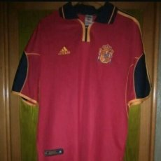 Coleccionismo deportivo: ADIDAS CAMISETA ESPAÑA EUROCOPA 2000. Lote 206266408