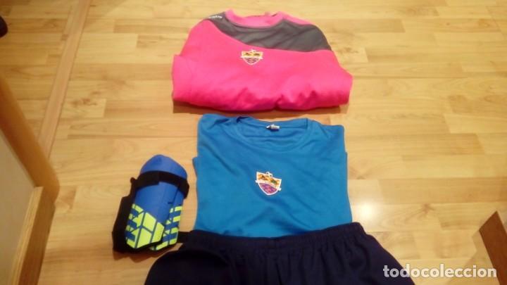 Coleccionismo deportivo: PACK EQUIPO CF ICOMAR (camiseta, sudadera, camiseta, calcetines y protecciones Adidas) - Foto 5 - 206280152