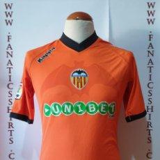 Coleccionismo deportivo: VALENCIS C.F 2010-2011 AWAY CAMISETA FUTBOL KAPPA. Lote 207254261