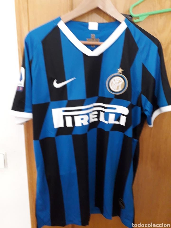 Camiseta Casa Inter De Milán 2019 2020 Sensi Buy Football T Shirts At Todocoleccion 207946360