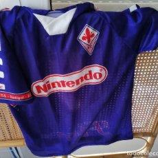 Coleccionismo deportivo: CAMISETA FIORENTINA - BATISTUTA - TALLA M. Lote 208137995