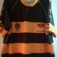 Collectionnisme sportif: RUGBY CLUB VALENCIA LES ABELLES M JERSEY CAMISETA SHIRT MATCH WORN CF. Lote 208972745