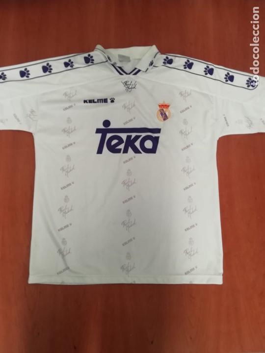 CAMISETA TEKA REAL MADRID (Coleccionismo Deportivo - Ropa y Complementos - Camisetas de Fútbol)