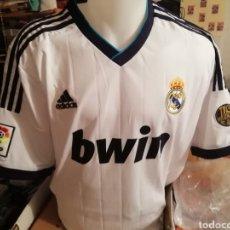 Coleccionismo deportivo: CAMISETA REAL MADRID CONMEMORATIVA. 110 AÑOS. TALLA L.. Lote 210658161