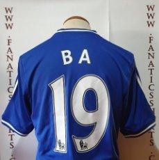 Coleccionismo deportivo: #19 DEMBA BA CHELSEA FC 13-14 HOME CAMISETA FUTBOL ADIDAS. Lote 211490257