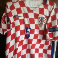 Coleccionismo deportivo: HRVATSKA CROATIA MATCH WORN M TRIKOT CAMISETA FUTBOL FOOTBALL SHIRT MAGLIA. Lote 211845010