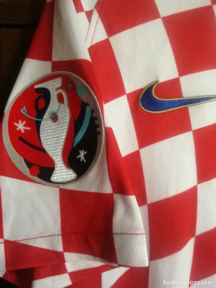 Coleccionismo deportivo: HRVATSKA CROATIA MATCH WORN M trikot camiseta futbol football shirt maglia - Foto 2 - 211845010