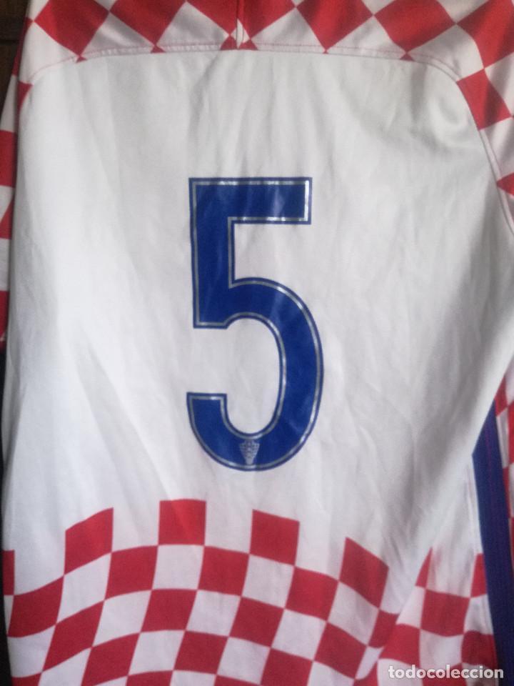 Coleccionismo deportivo: HRVATSKA CROATIA MATCH WORN M trikot camiseta futbol football shirt maglia - Foto 4 - 211845010
