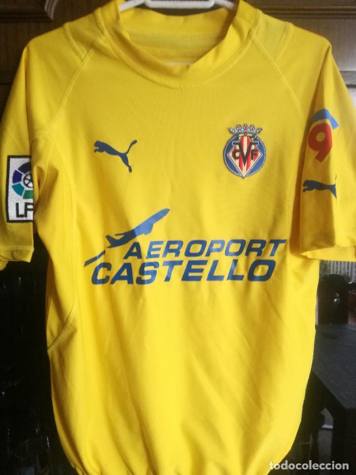 VILLARREAL CF L TRIKOT CAMISETA FUTBOL FOOTBALL SHIRT MAGLIA (Coleccionismo Deportivo - Ropa y Complementos - Camisetas de Fútbol)