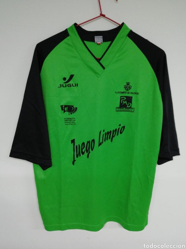 CAMISETA JUGUI - AJUNTAMENT DE VALENCIA (Coleccionismo Deportivo - Ropa y Complementos - Camisetas de Fútbol)