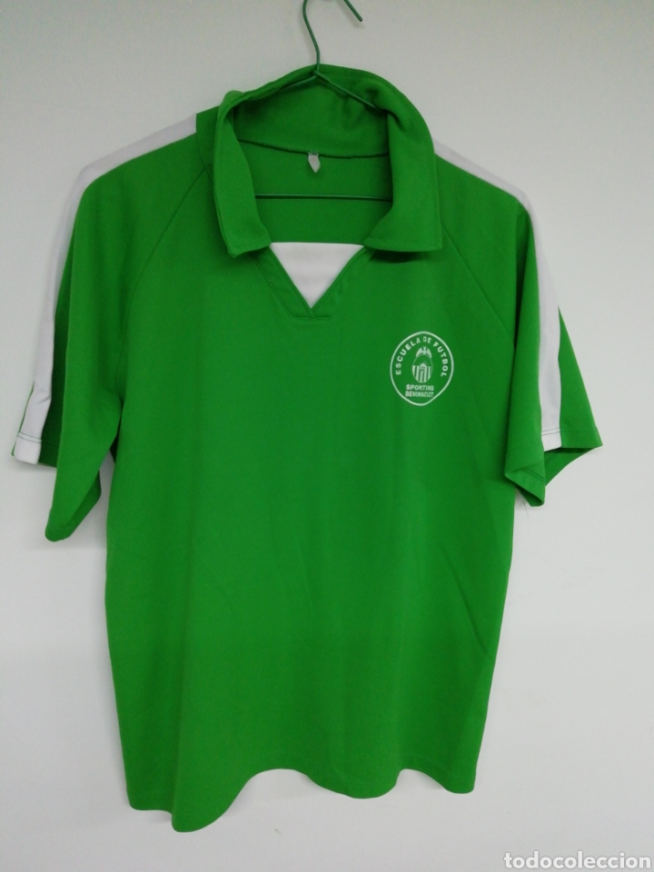 CAMISETA SPORTING BENIMACLET (Coleccionismo Deportivo - Ropa y Complementos - Camisetas de Fútbol)