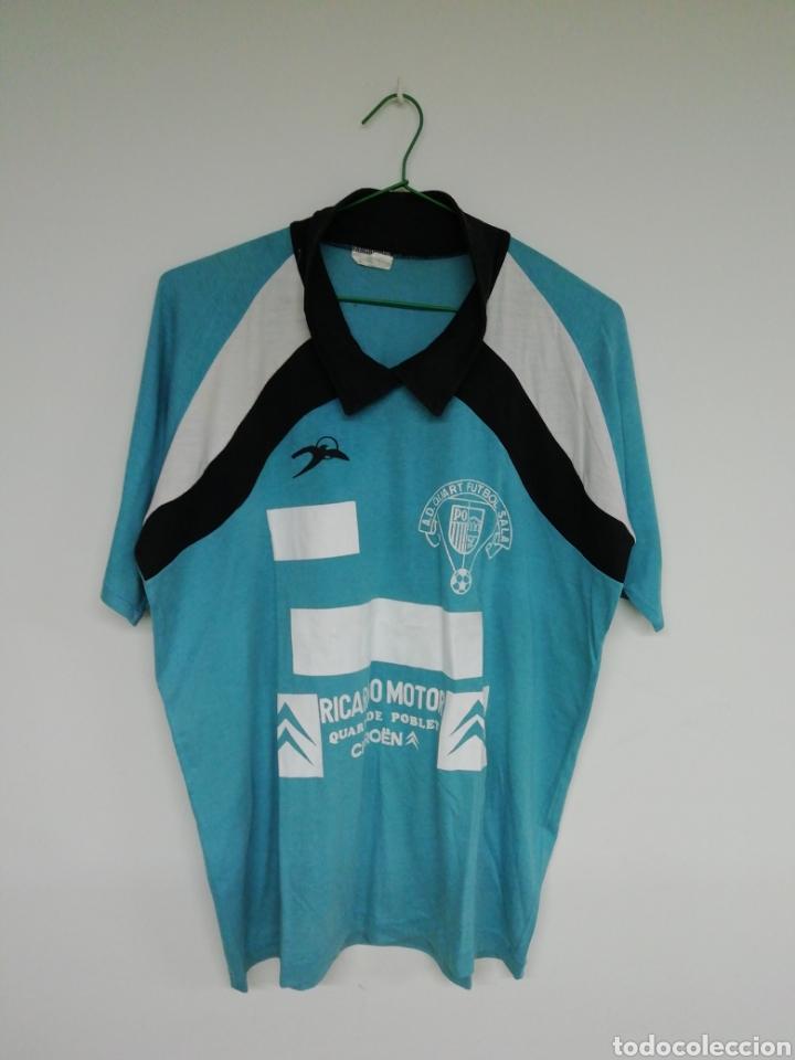 CAMISETA A. D. QUART FÚTBOL SALA (Coleccionismo Deportivo - Ropa y Complementos - Camisetas de Fútbol)