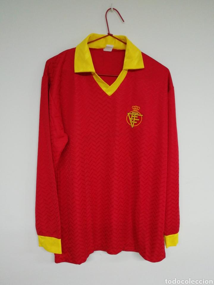 CAMISETA FEDERACION ESPAÑOLA DE FUTBOL (Coleccionismo Deportivo - Ropa y Complementos - Camisetas de Fútbol)