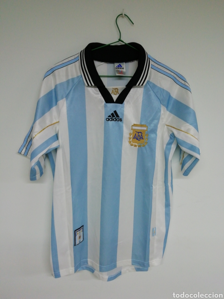 CAMISETA ASOCIACION ARGENTINA DE FUTBOL (Coleccionismo Deportivo - Ropa y Complementos - Camisetas de Fútbol)