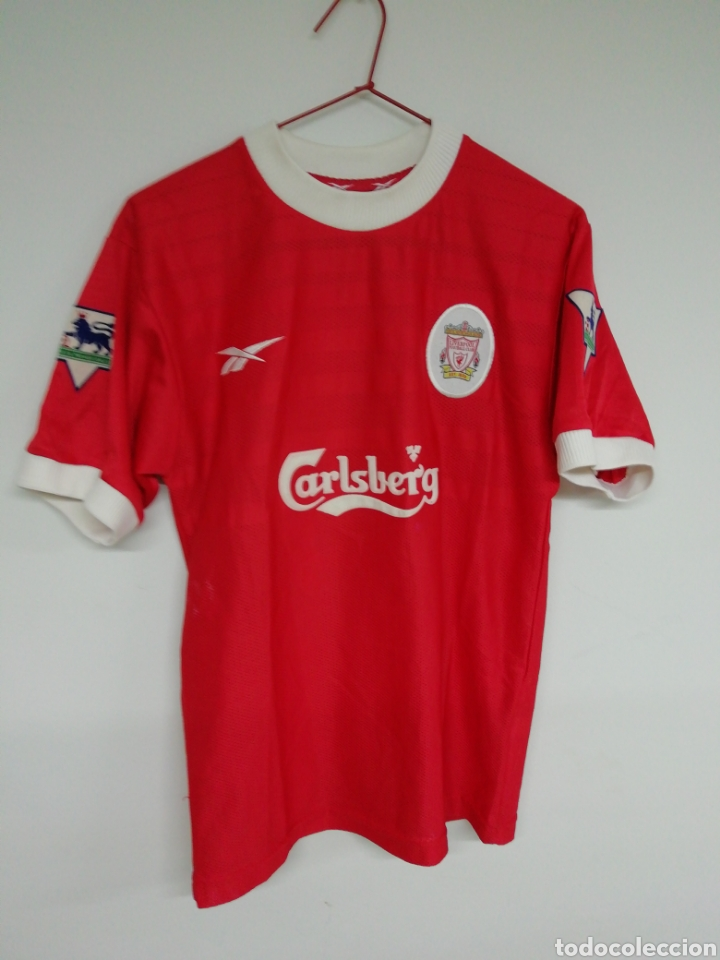 CAMISETA LIVERPOOL FC (Coleccionismo Deportivo - Ropa y Complementos - Camisetas de Fútbol)