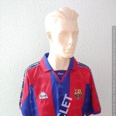 Coleccionismo deportivo: CAMISETA LUIS ENRIQUE - FC BARCELONA - KAPPA TALLA L - NUEVA SIN USO. Lote 212630975