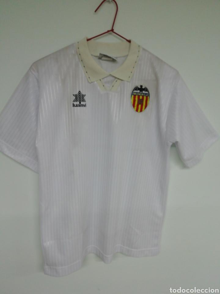 CAMISETA VALENCIA C. F. (Coleccionismo Deportivo - Ropa y Complementos - Camisetas de Fútbol)