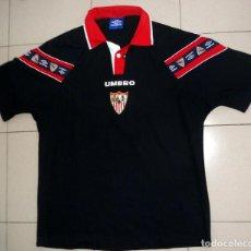 Colecionismo desportivo: CAMISETA FÚTBOL ANTIGUA SEVILLA FC TEMPORADA 98/99 3ªEQUIPACIÓN RARA - UMBRO ORIGINAL - VINTAGE. Lote 220738345