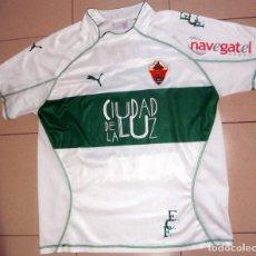 Coleccionismo deportivo: CAMISETA ANTIGUA FÚTBOL ELCHE CF TXIKI MATCH WORN PARTIDO JUGADO - PUMA - TEMPORADA 04/05 2004 2005. Lote 212725927