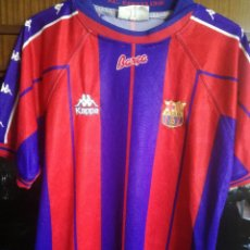 Coleccionismo deportivo: FC BARCELONA MATCH WORN M FUTBOL FOOTBALL CAMISETA SHIRT TRIKOT. Lote 212897535