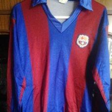 Coleccionismo deportivo: FC BARCELONA 1970 ALEVIN MATCH WORN VINTAGE RETRO S TRIKOT CAMISETA FUTBOL FOOTBALL SHIRT MAGLIA. Lote 213683390