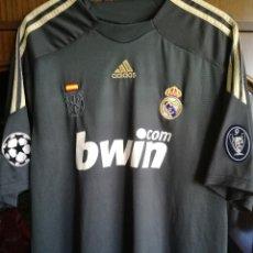 Colecionismo desportivo: REAL MADRID KAKA CHAMPIONS LEAGUE XL TRIKOT CAMISETA FUTBOL FOOTBALL SHIRT. Lote 214293577