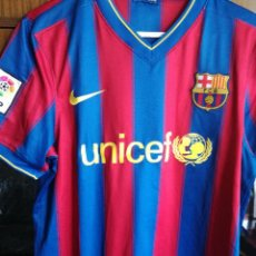 Coleccionismo deportivo: DANI ALVES FOR PLAYERS L FC BARCELONA CAMISETA FUTBOL FOOTBALL SHIRT. Lote 214716057