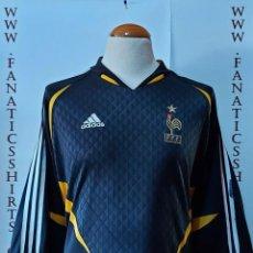 Coleccionismo deportivo: SELECCION FRANCIA 2004 GOALKEPPER CAMISETA FUTBOL ADIDA. Lote 215560125