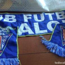 Collectionnisme sportif: CF BADALONA BUFANDA SCARF FOOTBALL FUTBOL. Lote 216411042