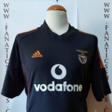 Coleccionismo deportivo: BENFICA LISBOA AWAY 2002-2003 CAMISETA FUTBOL ADIDAS. Lote 216785592