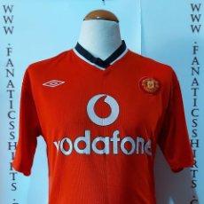 Coleccionismo deportivo: MANCHESTER UNITED 2000-2001 HOME CAMISETA FUTBOL UMBRO. Lote 216787108