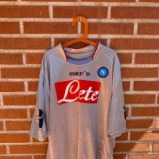 Coleccionismo deportivo: CAMISETA FUTBOL OFICIAL/ORIGINAL NAPOLES 2009-2010. Lote 217119548