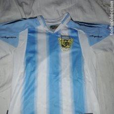 Coleccionismo deportivo: CAMISETA FÚTBOL SELECCIÓN ARGENTINA NÚMERO 7 SAVIOLA. Lote 217838675