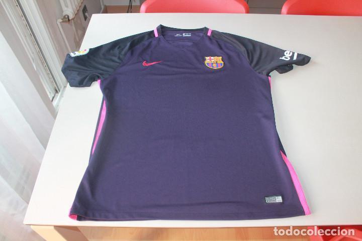 Depender de al revés civilización  camiseta nike f. c. barcelona, barcelona stadi, - Buy Football T-Shirts at  todocoleccion - 217909008