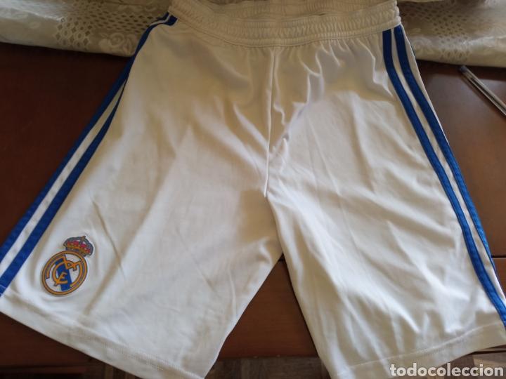 AGE 10 SHORTS REAL MADRID (Coleccionismo Deportivo - Ropa y Complementos - Camisetas de Fútbol)