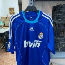 Coleccionismo deportivo: SEGUNDA CAMISETA REAL MADRID TEMPORADA 2008/09 - TALLA L - DORSAL 9 RONALDO. Lote 218017327