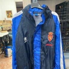 Coleccionismo deportivo: CHUBASQUERO REAL ZARAGOZA AÑOS 90 - LUANVI - TALLA L. Lote 218017858