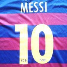 Coleccionismo deportivo: CAMISETA T-SHIRT FC BARCELONA OFICIAL MESSI ARGENTINA TALLA 14 AÑOS NEW 100% R10. Lote 218204812