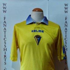 Coleccionismo deportivo: CADIZ C.F 1999-2000 HOME CAMISETA FUTBOL KELME. Lote 218207430