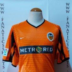 Coleccionismo deportivo: VALENCIA C.F 2001-2002 AWAY CAMISETA FUTBOL NIKE. Lote 218207666